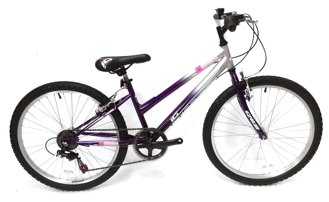 Ignite Diva 24 Girls Mountain Bike Husqvarna